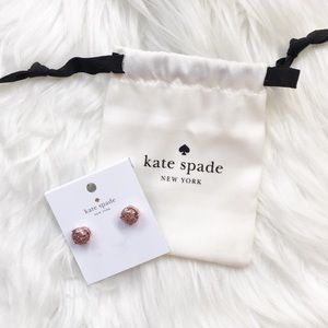🌟NWT🌟 Kate Spade Glitter Earrings